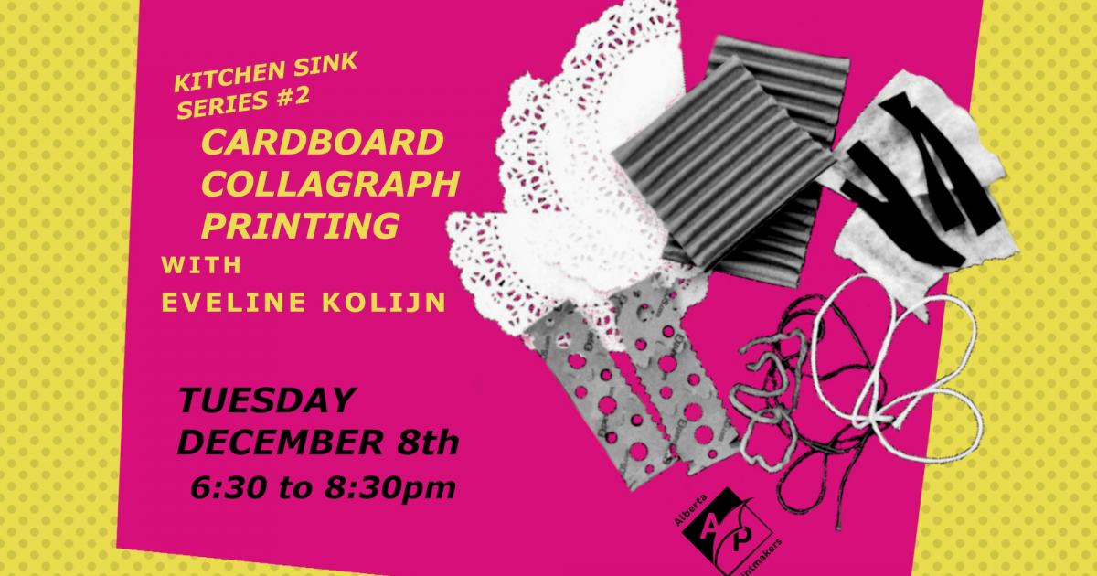 Link to Interactive Live Online Demo | Cardboard Collagraph Printing