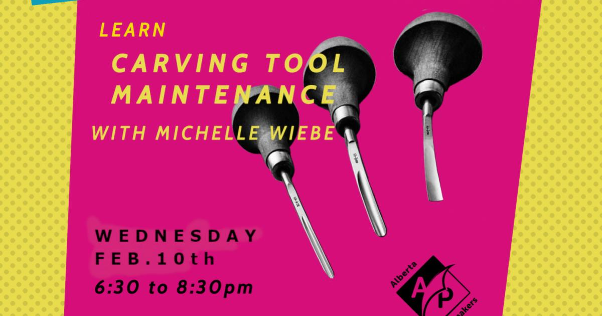 Link to Stay Sharp: Carving Tool Maintenance