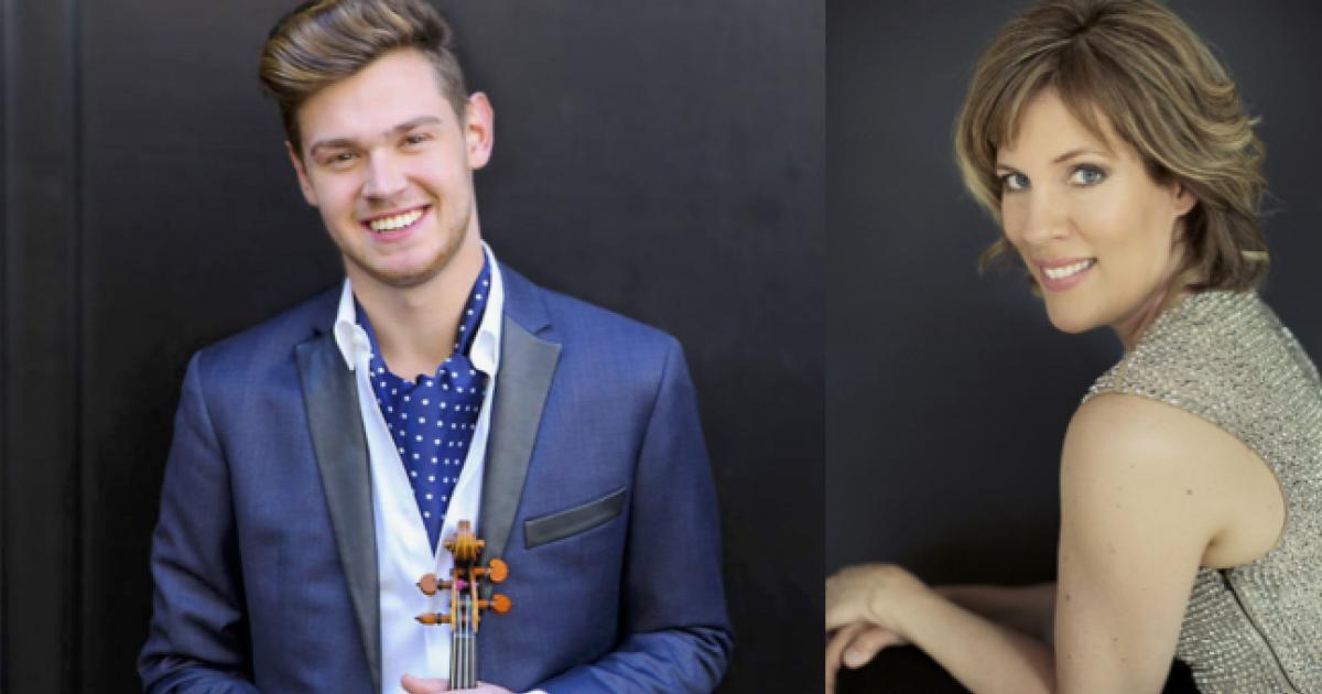 Link to Concert | Blake Pouliot, Violinist & Susanne Ruberg-Gordon, Pianist