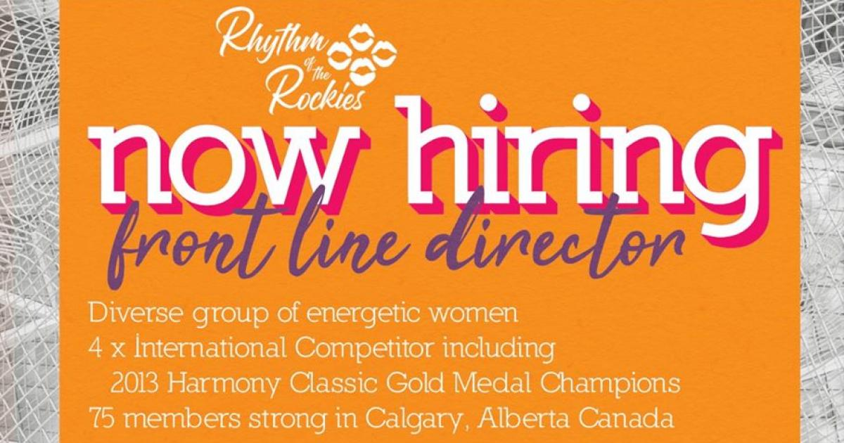 Link to Job Opportunity | Rhythm of the Rockies is seeking a Music Director