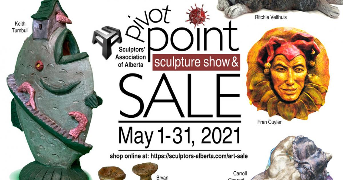 Link to Sculptors' Association of Alberta | Pivot Point Show and Sale