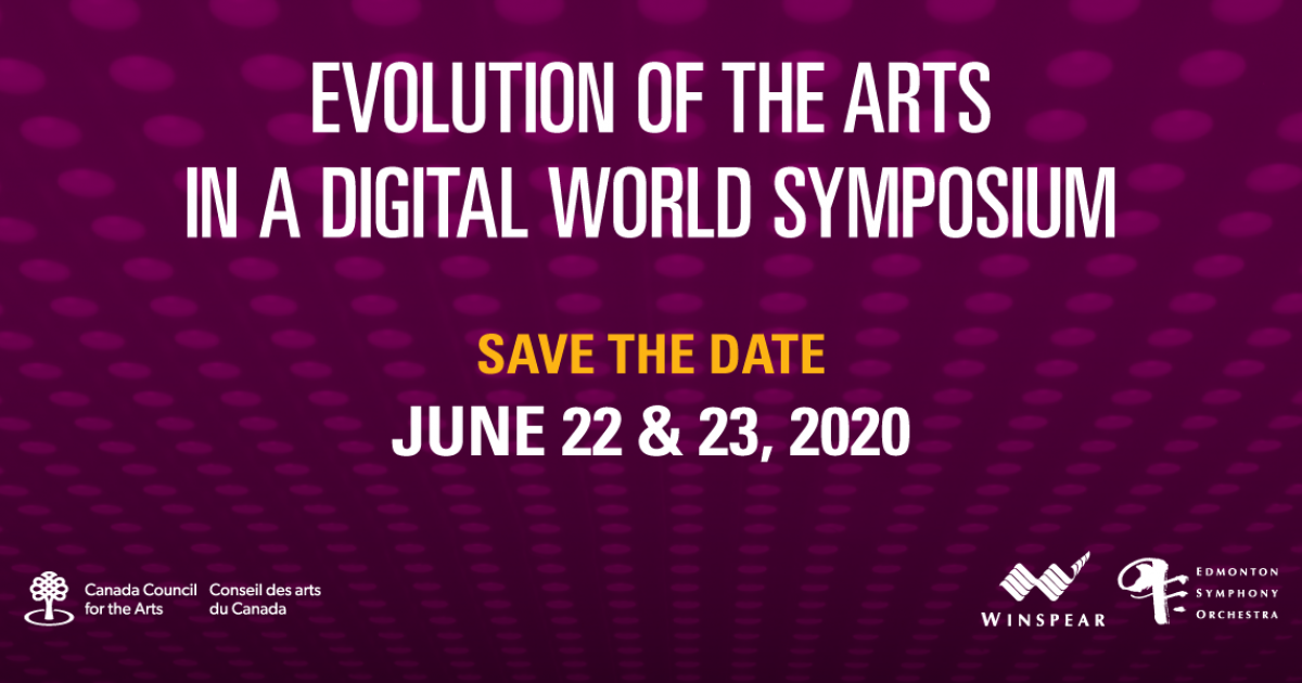 Link to Save the Date: Evolution of the Arts in a Digital World Symposium 2020