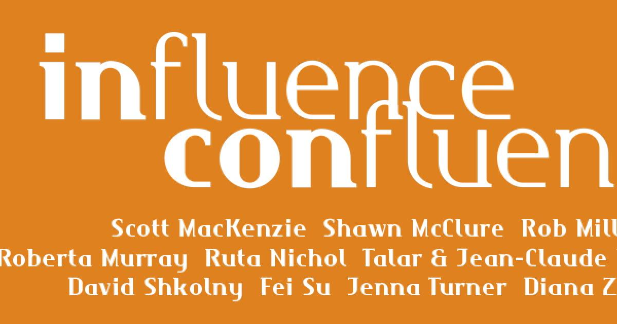 Link to Influence/Confluence Showcase Opening Reception
