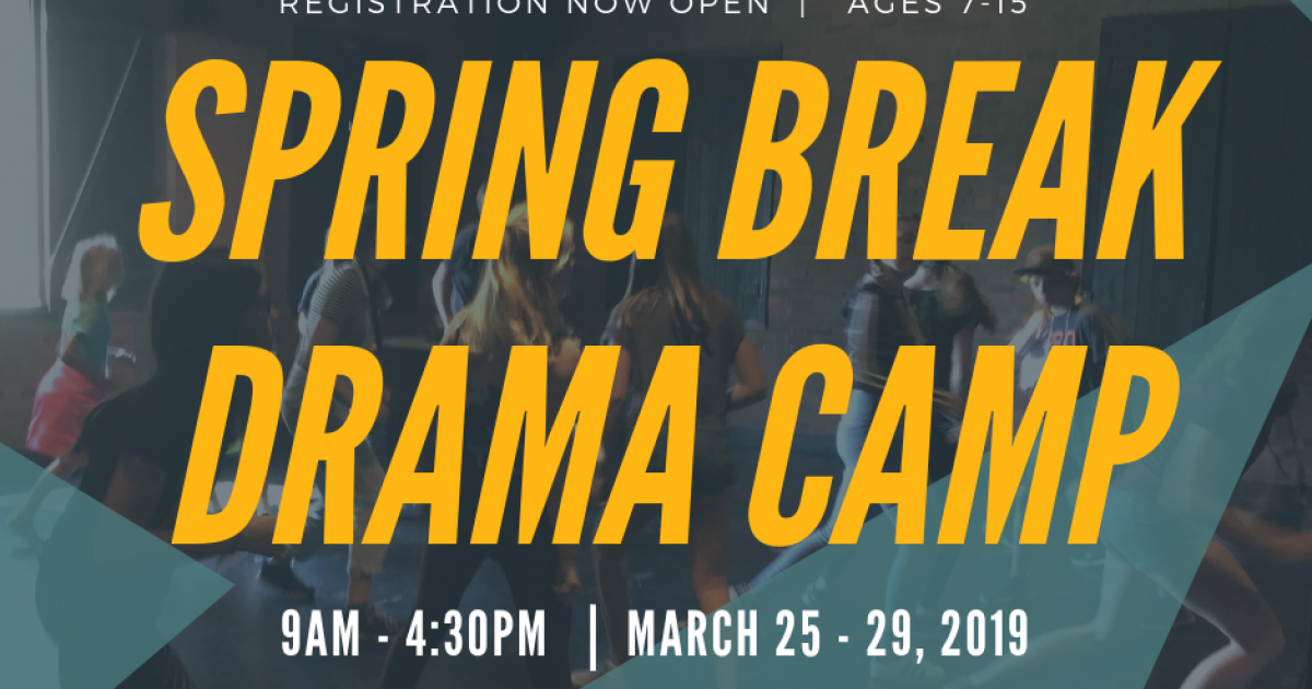 Camp (Calgary): Pumphouse Theatre Spring Break Drama Day Camp
