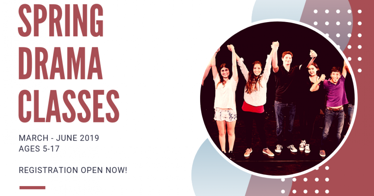 Link to Classes (Calgary): Pumphouse Theatre Spring Drama Classes