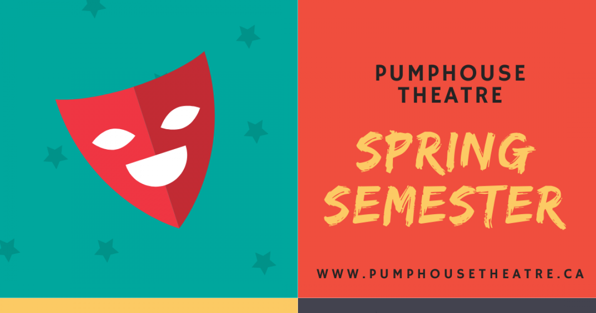 Link to Pumphouse Theatre Spring Drama Classes