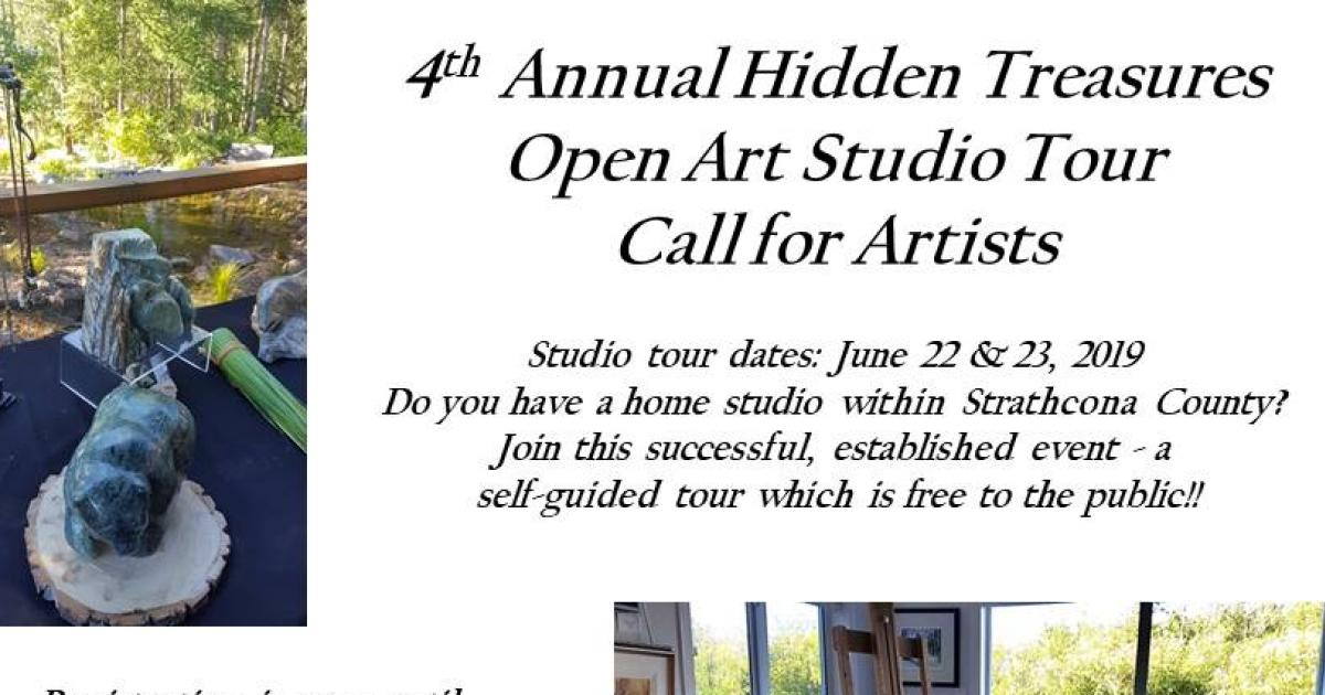 4th Annual Hidden Treasures Open Art Studio Tour Call for Artists