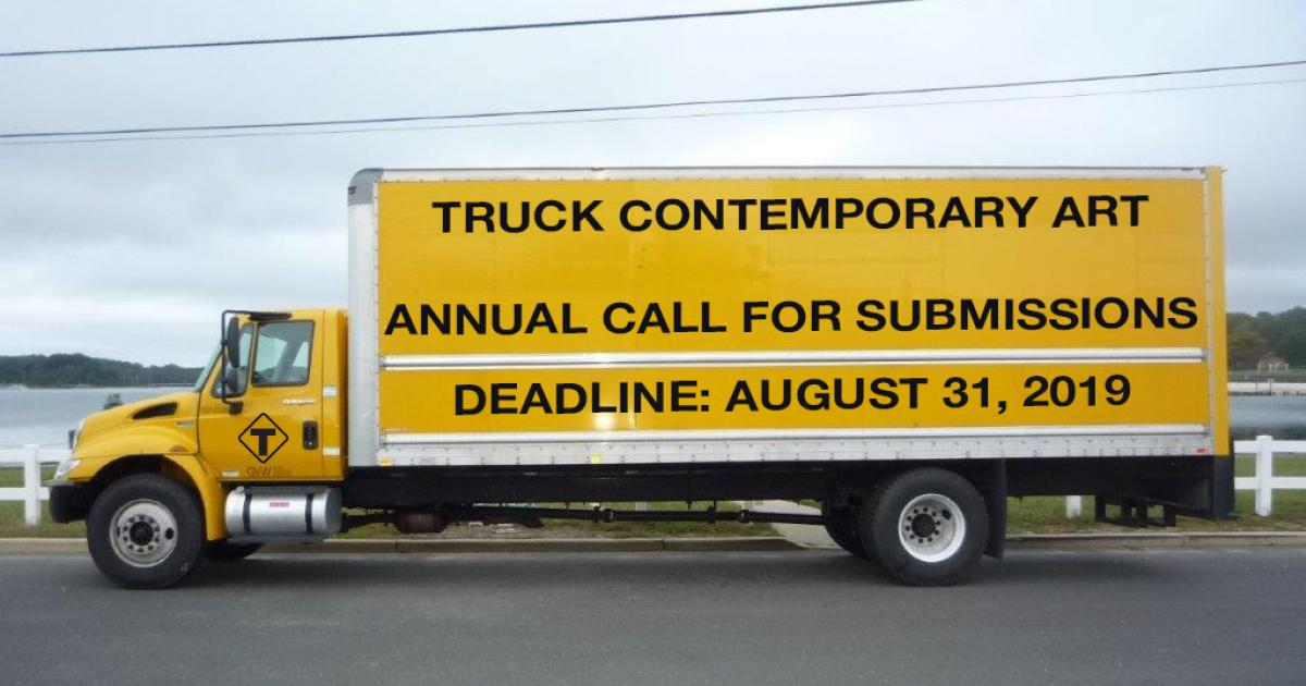 Link to Annual Call for Submissions | TRUCK Contemporary Art