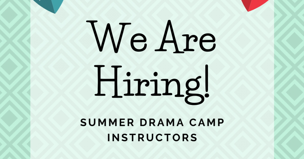 Link to Pumphouse Theatre Summer Drama Day Camps Instructors