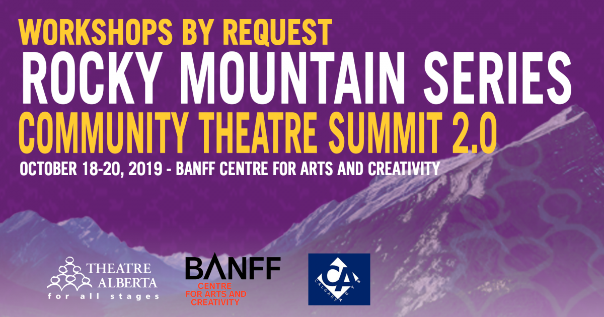 Registration Now Open | Community Theatre Summit 2.0