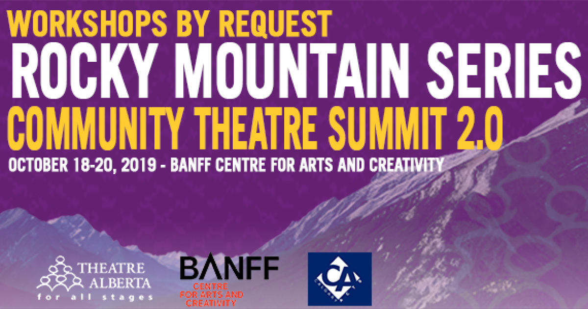 Link to Register for The Community Theatre Summit 2.0