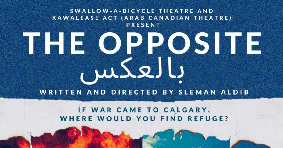 Link to Performance | Swallow-a-Bicycle Theatre and Kawalease ACT Present: بالعكس / The Opposite