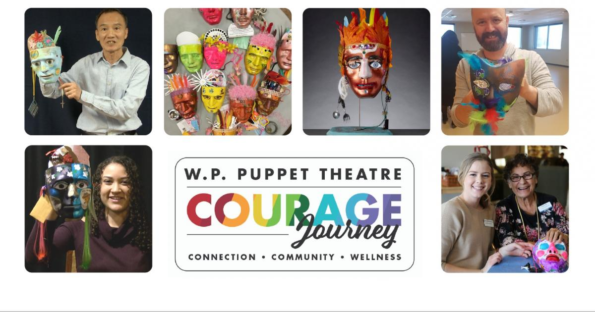 Link to Online Workshop | Self-Portrait Puppet