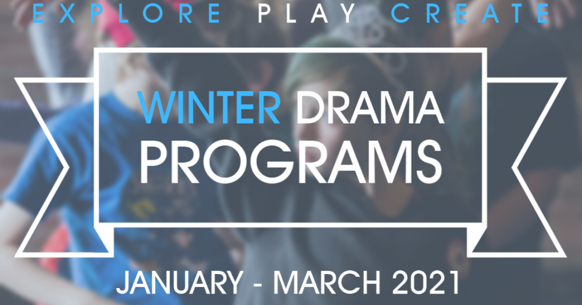 Link to Pumphouse Theatre 2021 Winter Youth Drama Classes