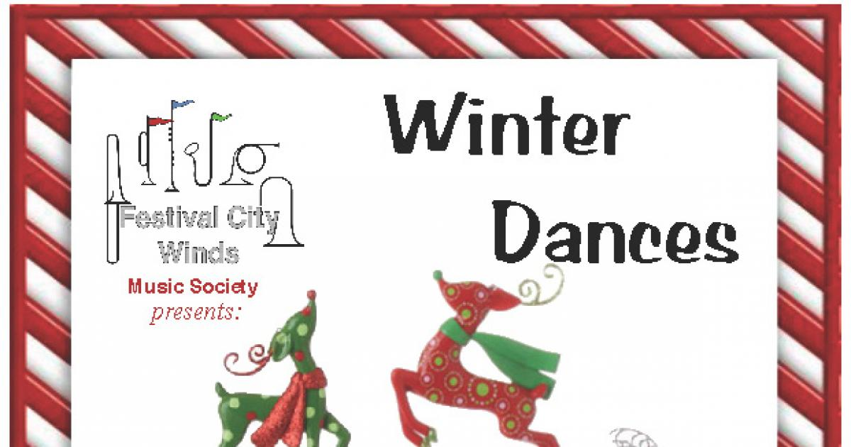 "Link to Concert | ""Winter Dances"" by Festival City Winds"