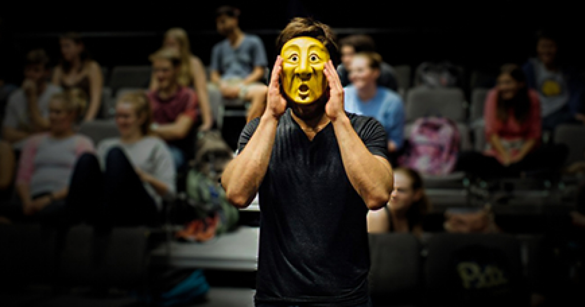 Link to Registration Now Open | The Storytelling Body: Mask Performance With The Wonderheads