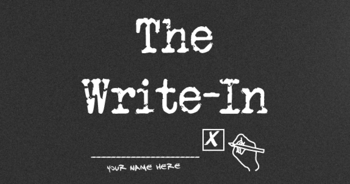 Link to Savanna Harvey presents: The Write-In