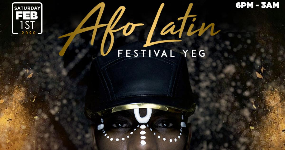 Link to The Afro Latin Festival YEG (Kickoff Party + Day 2)
