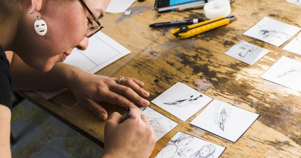 Animating Our Stories | Indigenous Writing and Digital Illustration