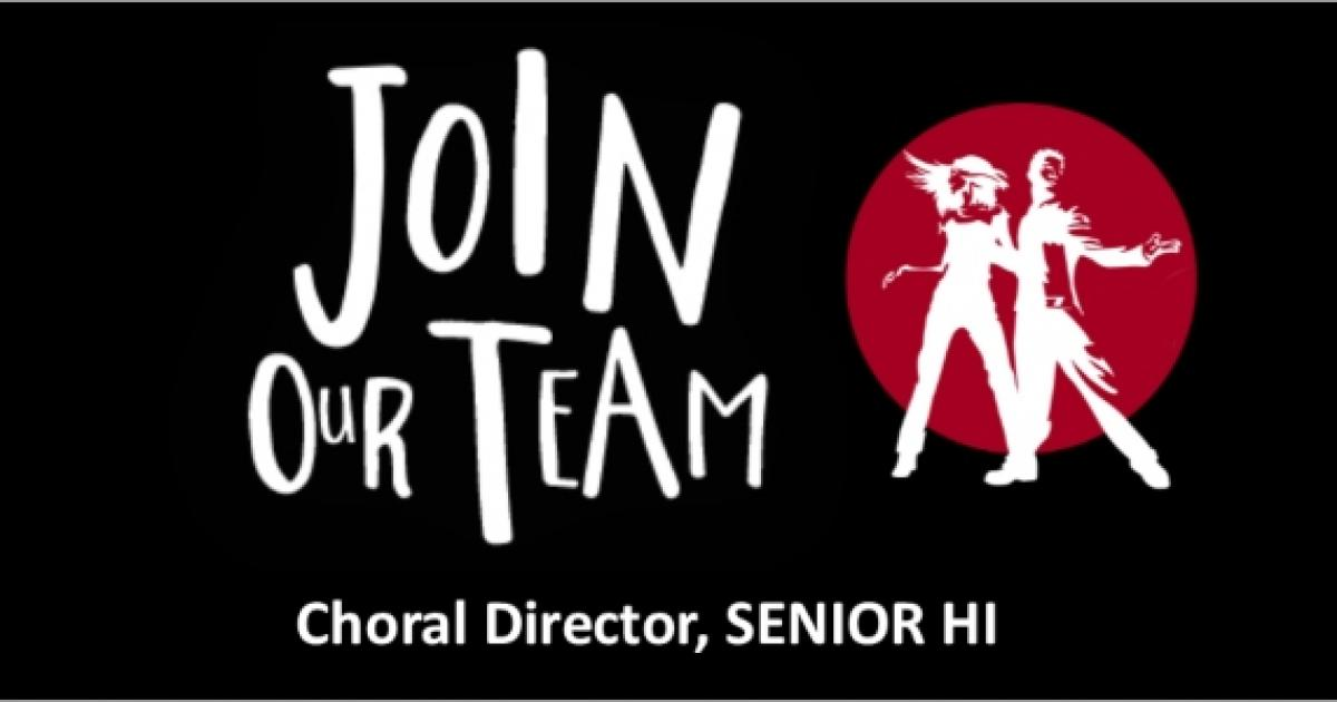 Link to Job Opportunity | Choral Director, SENIOR HI; Youth Singers of Calgary