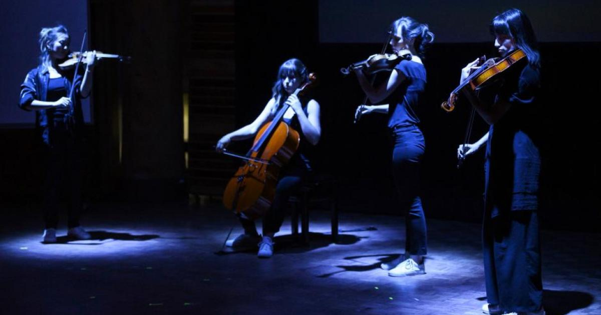 "Link to  Classical Music Summer 2020 |  ""Evolution: Quartet"" Residency"
