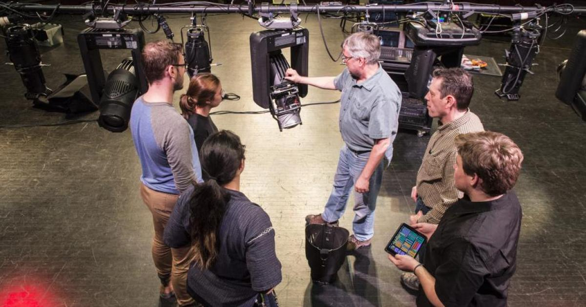 Link to Call for submissions | Lighting Technician Practicum at the Banff Centre