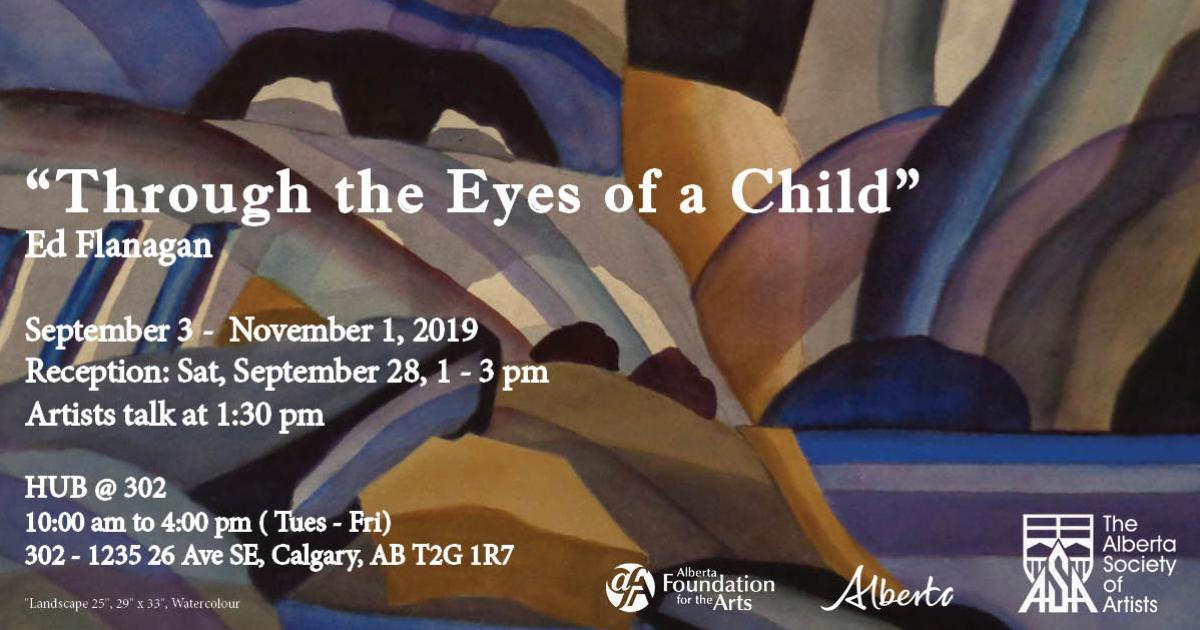 Link to New Exhibition | Through the Eyes of a Child