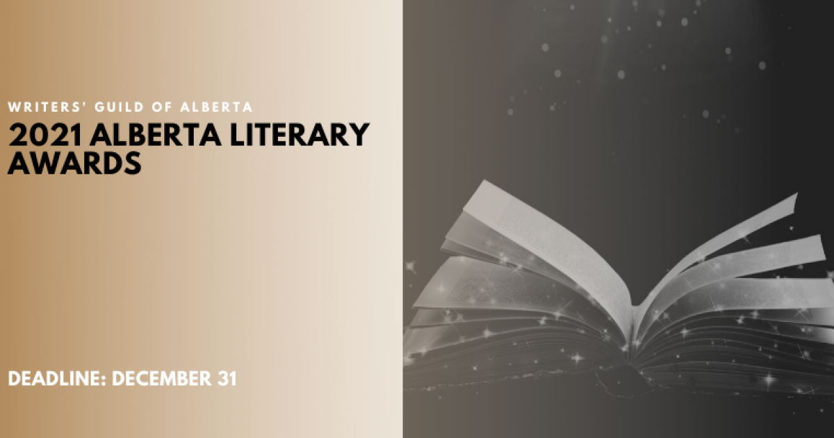 2021 Alberta Literary Awards Now Open for Submissions!