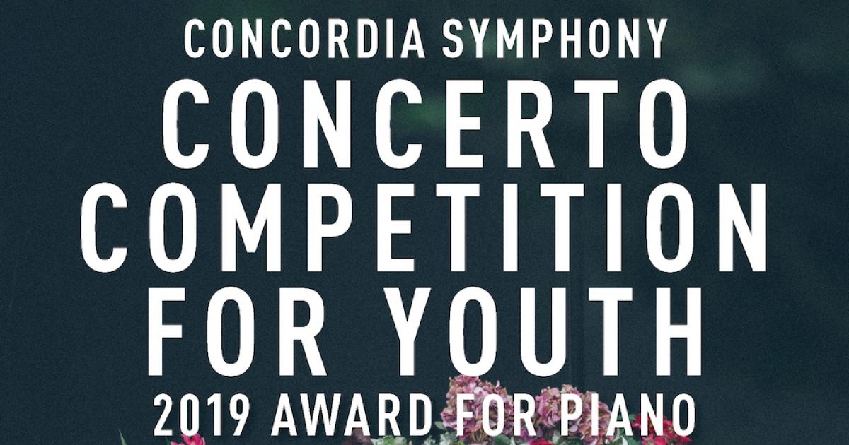 Link to Concordia Symphony Orchestra Concerto Competition for Piano