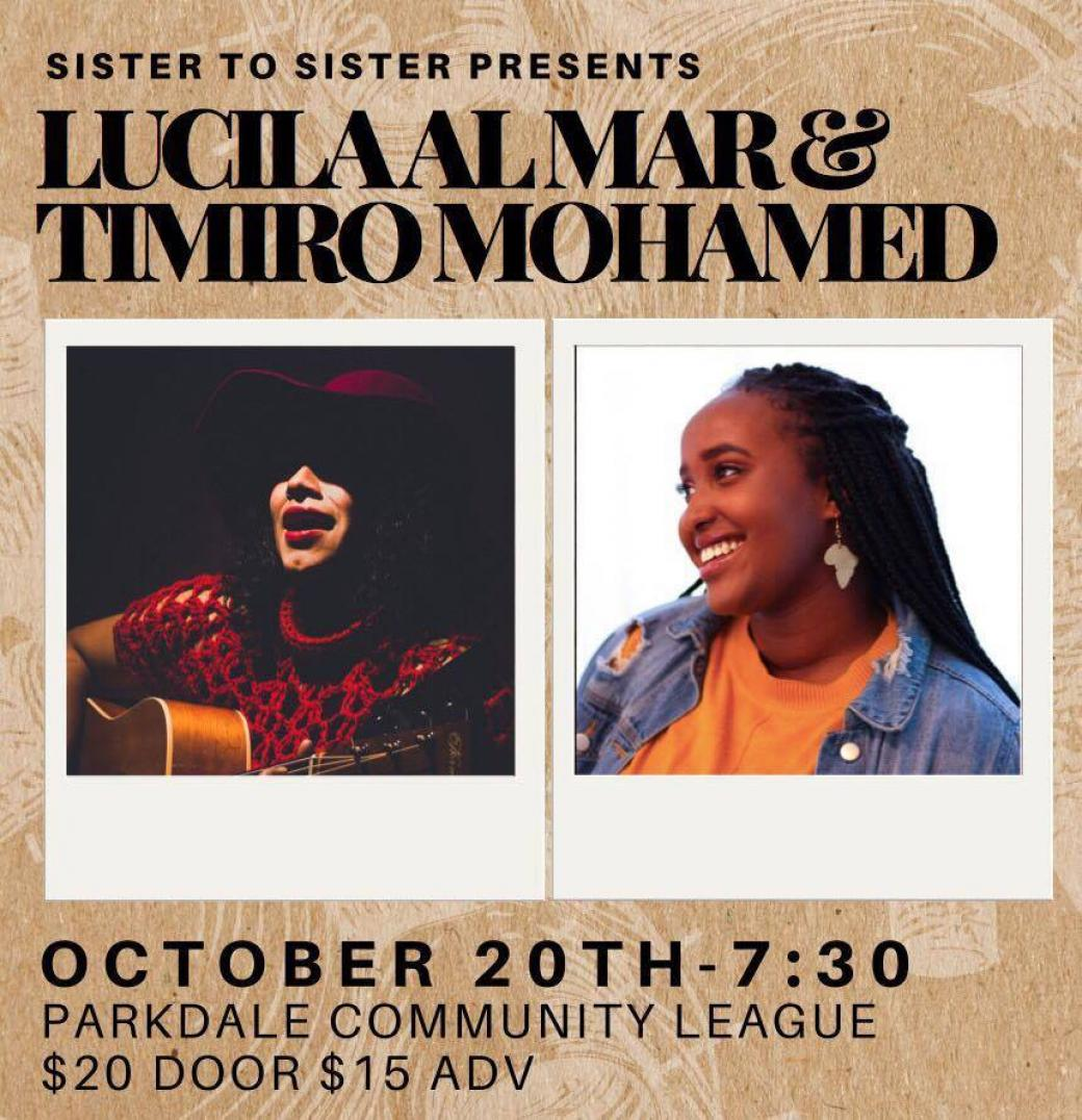 SPOTLIGHT: Lucila Al Mar X Timiro Mohamed
