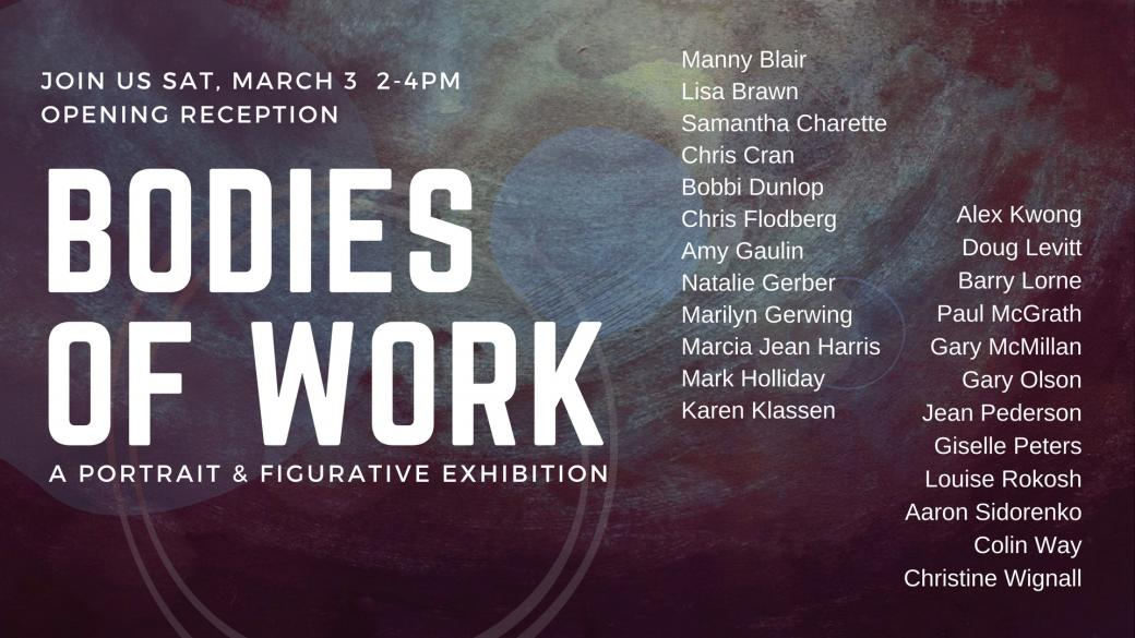 Bodies of Work: A Portrait & Figurative Group Exhibition