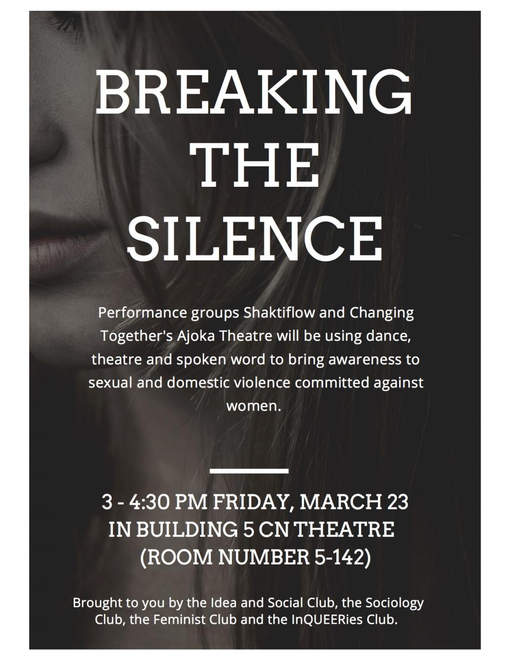 Breaking The Silence - An Aesthetic Response to Violence Against Women