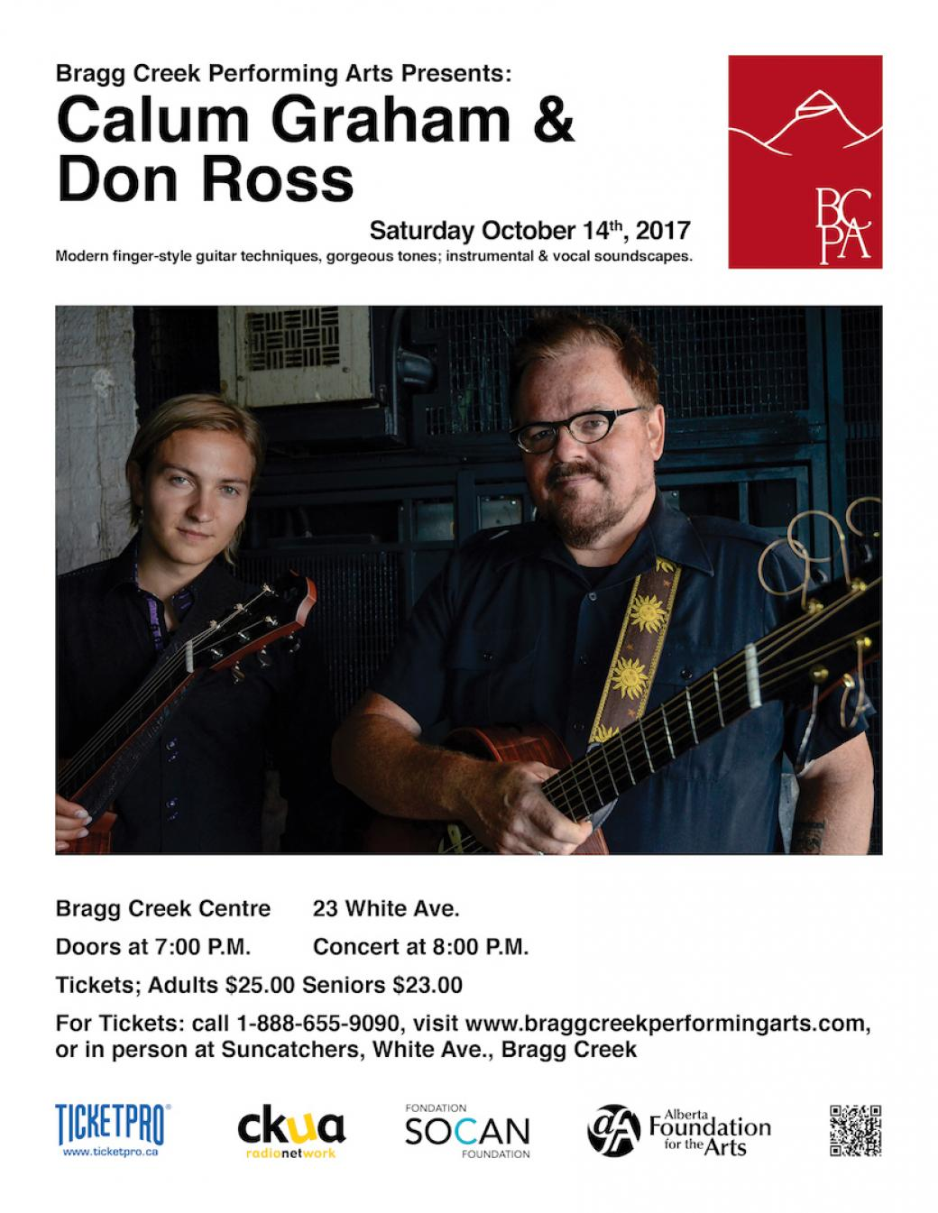 Don Ross and Calum Graham in Concert