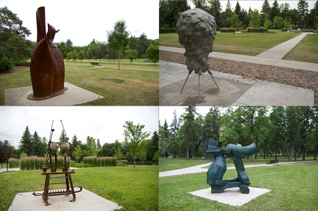 Edmonton Arts Council Public Art Picnic in Borden Park