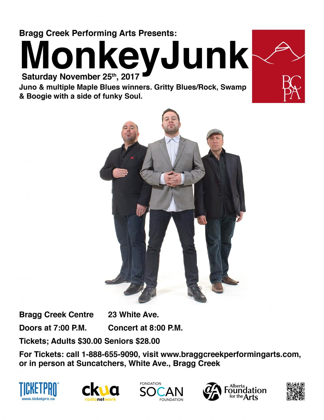MonkeyJunk in Concert