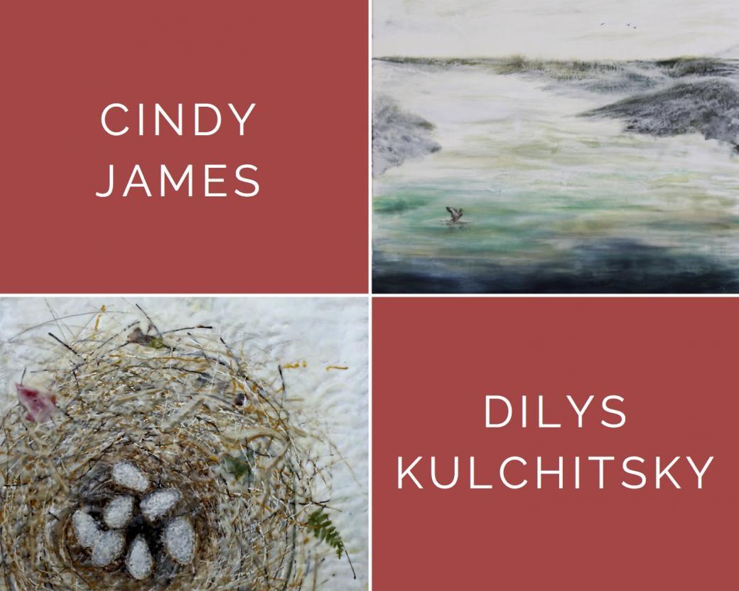 Gallery Reception: Cindy James & Dilys Kulchitsky