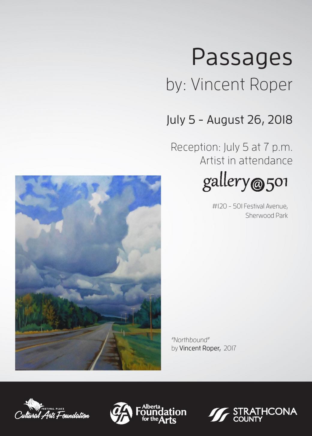 """""""Passages"""" by Vincent Roper"""