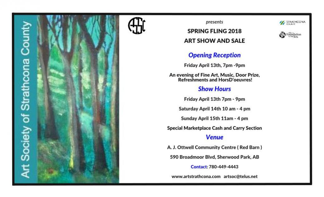 Spring Fling 2018 Art Show and Sale