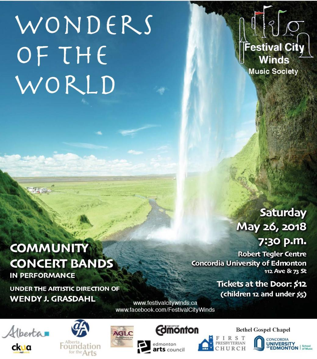 Wonders of the World - Festival City Winds Concert
