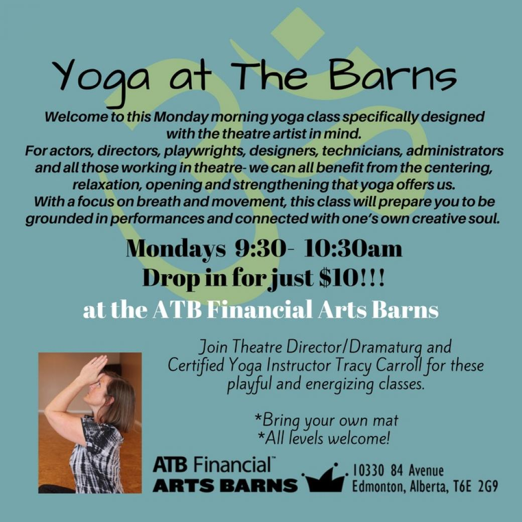 Yoga for Theatre Artists