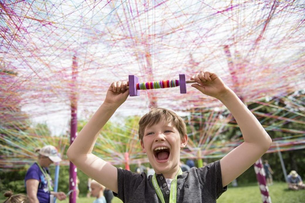 Call to Artists - Temporary, Community-Engaged Public Art at the Northern Alberta International Children's Festival