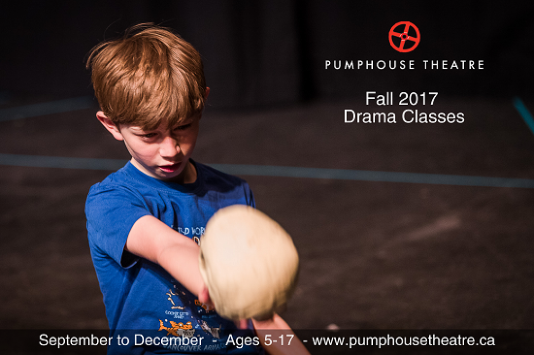 Pumphouse Theatre Fall Drama Classes
