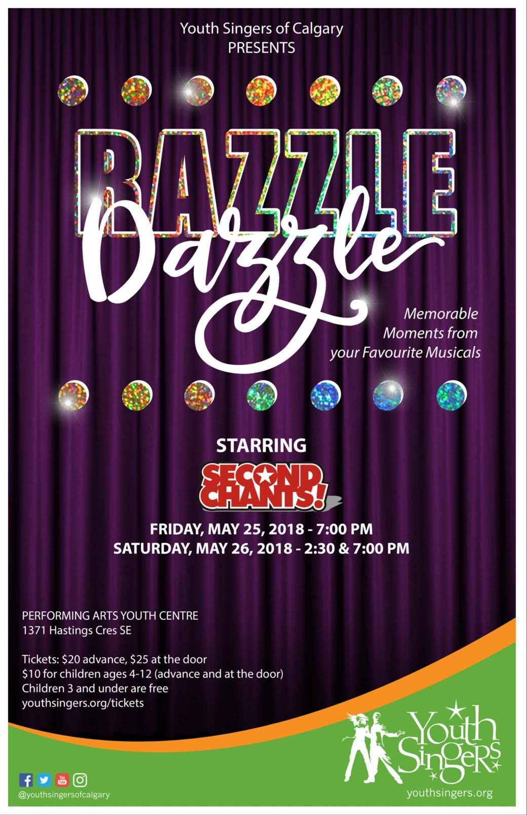 Razzle Dazzle with SECOND CHANTS