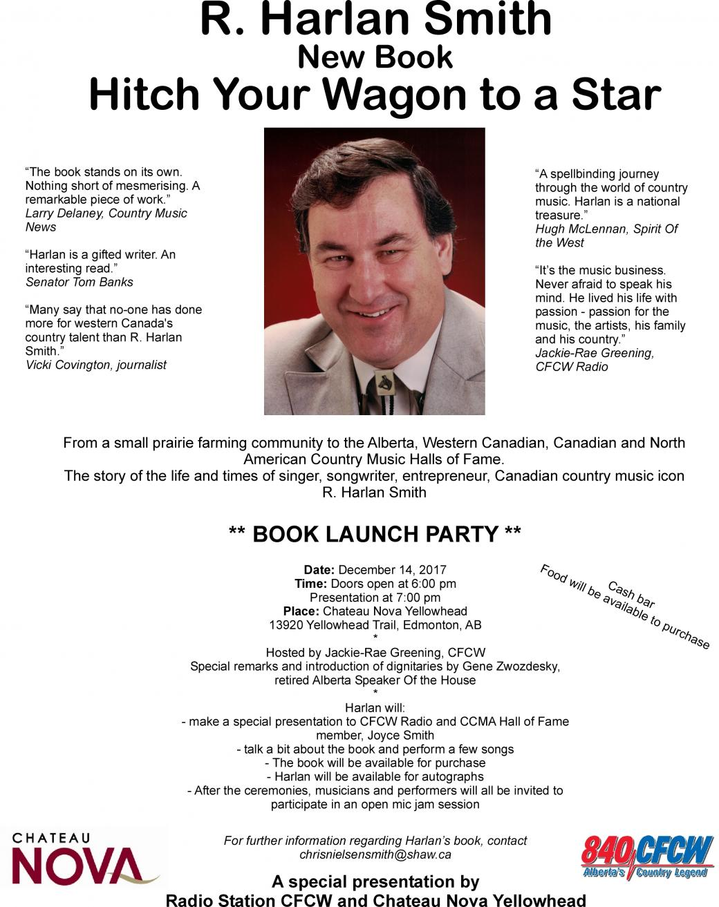 Book Launch: Hitch Your Wagon to a Star by R. Harlan Smith