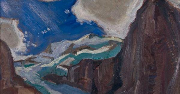 "Link to Work of the Week: ""High Glacier"" by Arthur Lismer"