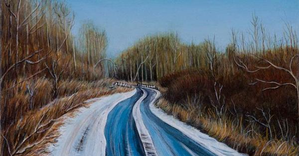 "Link to Work of the Week: ""Early Snow"" by Anne Patrick"