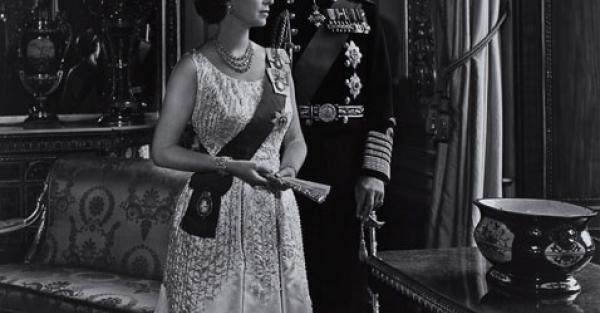 "Link to Work of the Week: ""Queen Elizabeth II and Prince Philip, 1966"" by Yousuf Karsh"