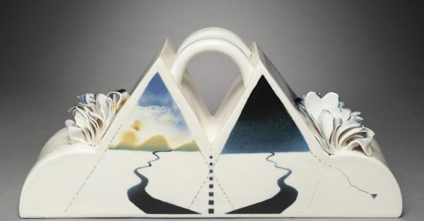 "Link to Work of the Week: ""Distant Mountain"" by Annemarie Schmid Esler"