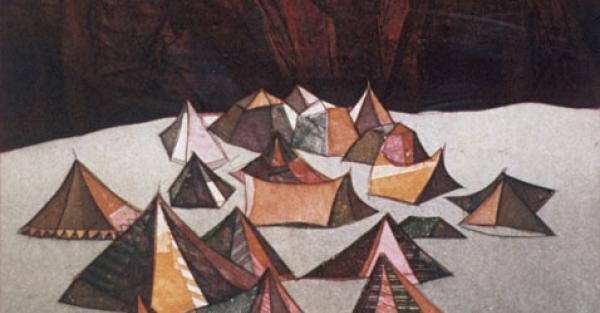 "Link to Work of the Week: ""Tents"" by John K. Esler"