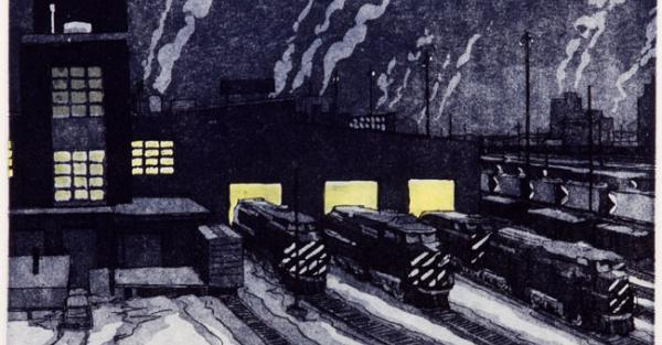 "Link to Work of the Week: ""Cold Night at the Yards"" by Stan Phelps"